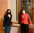 Cseh Katalin már megint a Parlamentben kotnyeleskedik