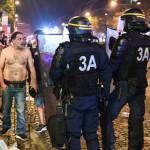 A franciáknak nem sikerült kulturáltan ünnepelni a győzelmet