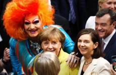 Merkel meleg lagzija