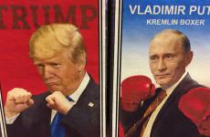 A ringben Donald és Vlagyimir