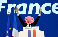 Macron - diktál a süti?