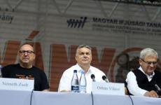 Orbán Viktor Tusványoson: Nyugaton liberalizmus van, demokrácia nincsen
