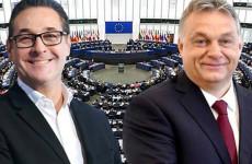 Strache közös pártcsaládot alapítana Orbán Viktorral