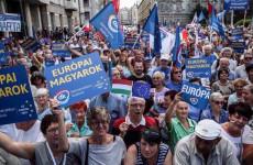 Tüntetés a szervezők ellen (és volt valami orbánozás is)