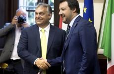 Salvini Orbánnal karöltve képzeli el a jövőt