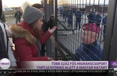 Kik ezek a nők, akik irányították a határhoz vonuló migránsokat? – videó