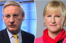 Bayer Zsolt: Bildt és Wallström megszégyenült