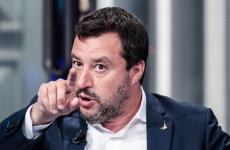 Salvini ismét odacsördített