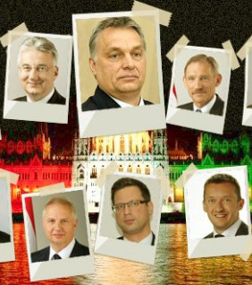 Orbán miniszterei