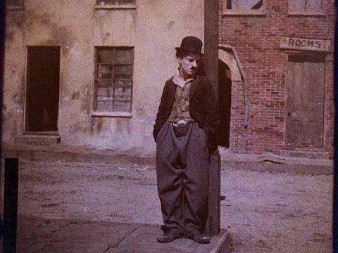Charles C. Zoller: Portrait of Charlie Chaplin, ca 1917-1918.