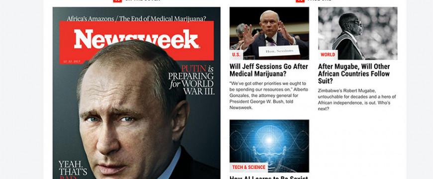 Lovas István: A Newsweek szerint Putyin a harmadik világháborút tervezi