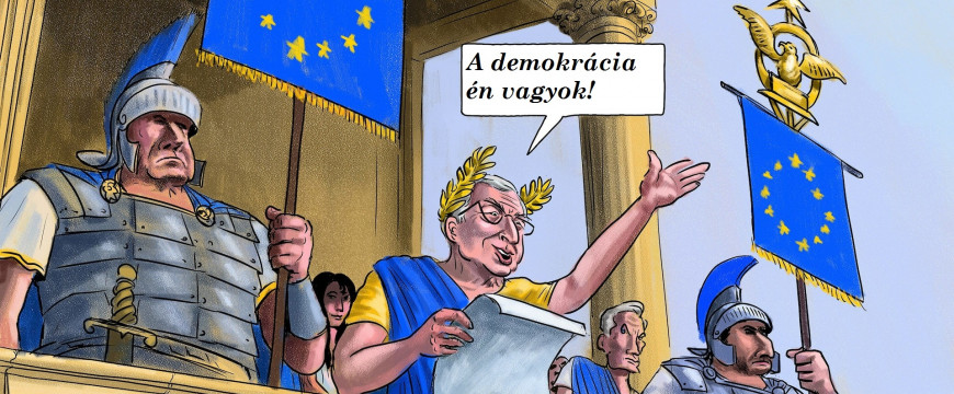 Juncker diktatúrát épít