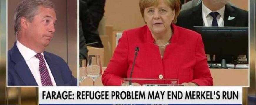 Nigel Farage: Merkelnek vége