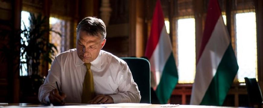 Orbán Viktor nagyon kemény üzenetet küldött