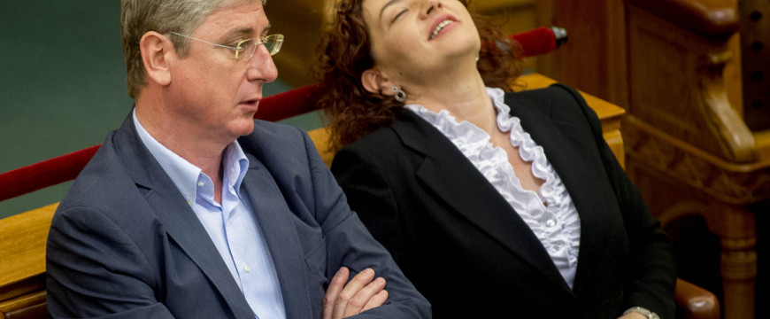 Gyurcsány össze-vissza beszélt a Parlamentben