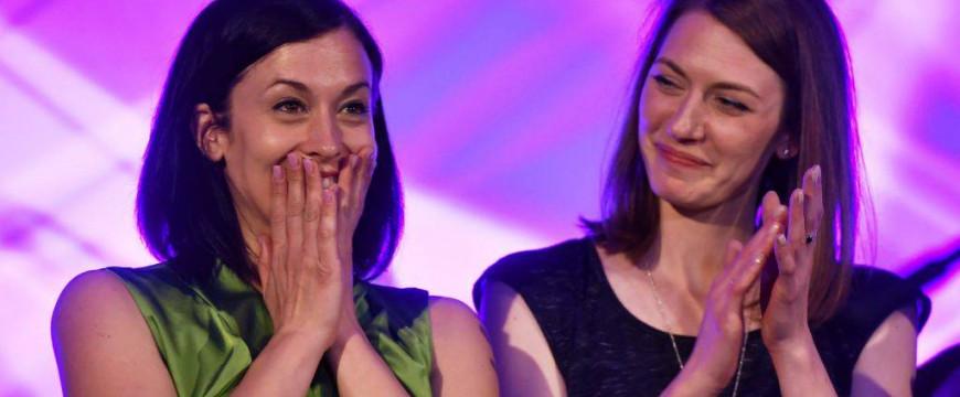 Donáth Anna és Cseh Katalin még nem tudják, hogy bukott politikusok