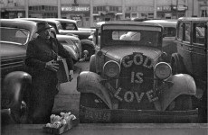 Fotó: John Gutmann: God is Love, 1939