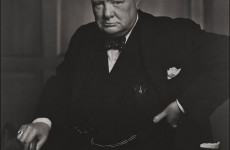 Fotó: Yousuf Karsh: Winston Churchill, 1941. december 30.