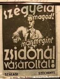 Nyilas plakáttal uszított a CBA ellen a Kettős Mérce | www.flagmagazin.hu